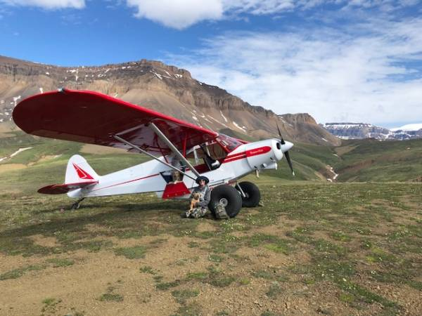 5,400' elevation in Wrangell Mtns