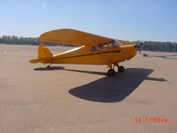 Piper J4 cub coupe