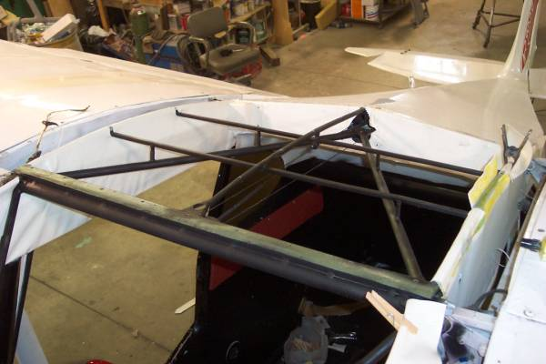 PA-22 Extended Skylight