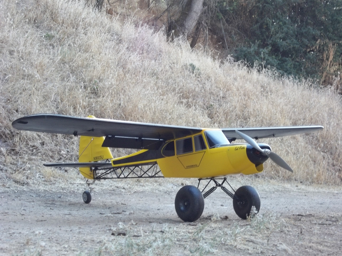 1/4 scale r/c PA-18