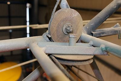 Click image for larger version.  Name:N9460D Flap Pulleys.jpg Views:122 Size:130.4 KB ID:28507