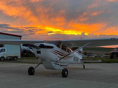 Click image for larger version.  Name:Sunrise on Cessna - Winifred.jpg Views:159 Size:70.9 KB ID:54009