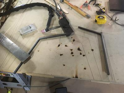 Click image for larger version.  Name:Welding Station on Table.JPG Views:71 Size:212.0 KB ID:34035